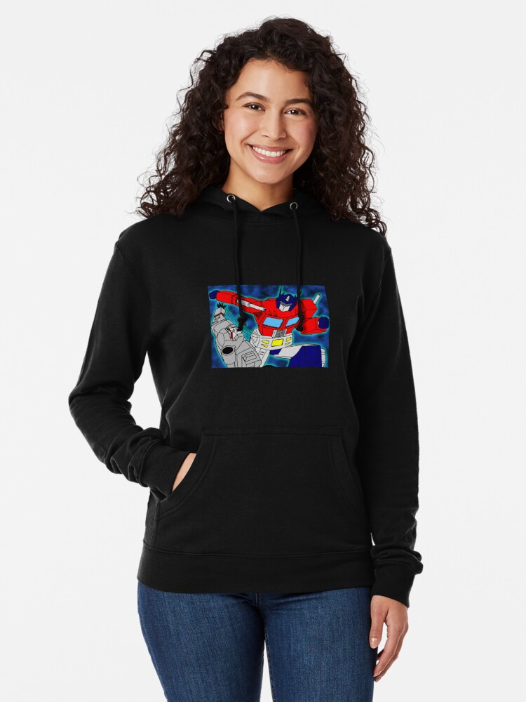 Alternate view of robots  Lightweight Hoodie