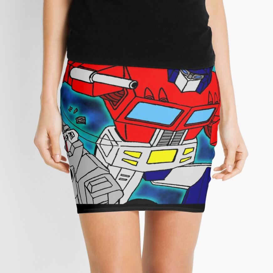 robots  Mini Skirt