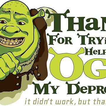 Depression Ogre by UglyMess
