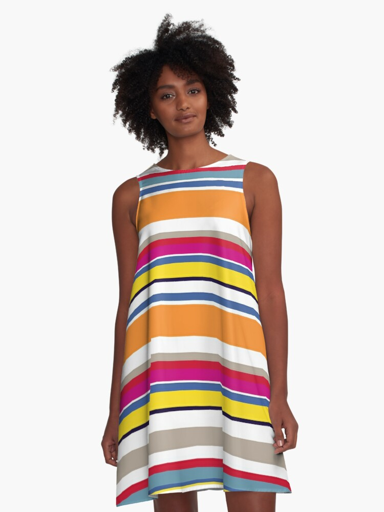 Woman on the Bus dress A-Line Dress Front