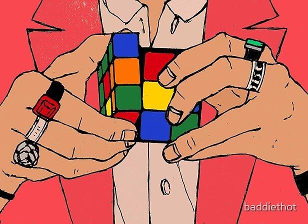 harry styles rubiks cube by baddiethot