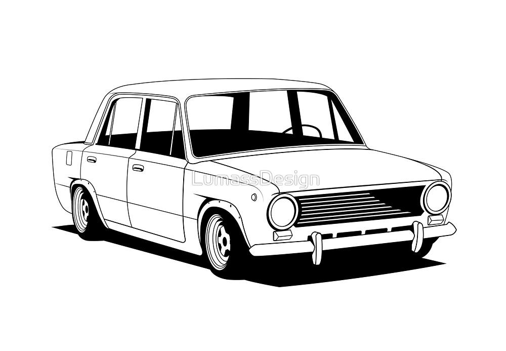 Lada 2101 by LumassDesign