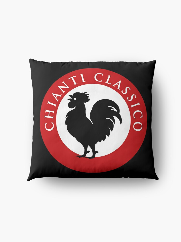 Alternate view of Black Rooster Chianti Classico Floor Pillow