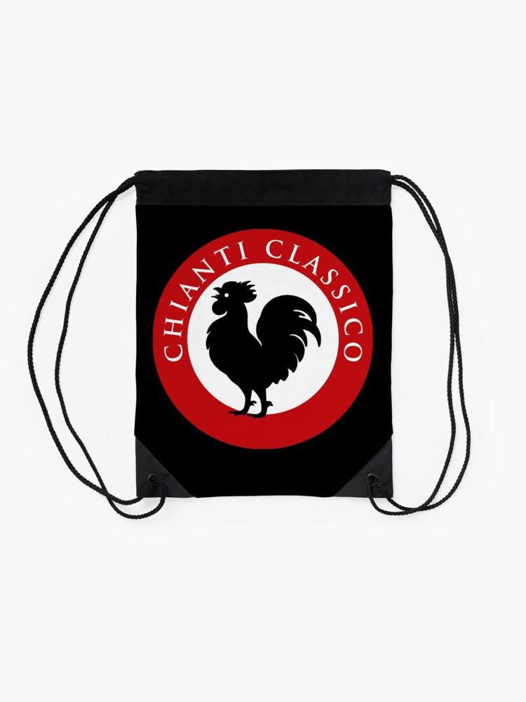 Alternate view of Black Rooster Chianti Classico Drawstring Bag