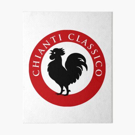Black Rooster Chianti Classico Art Board Print