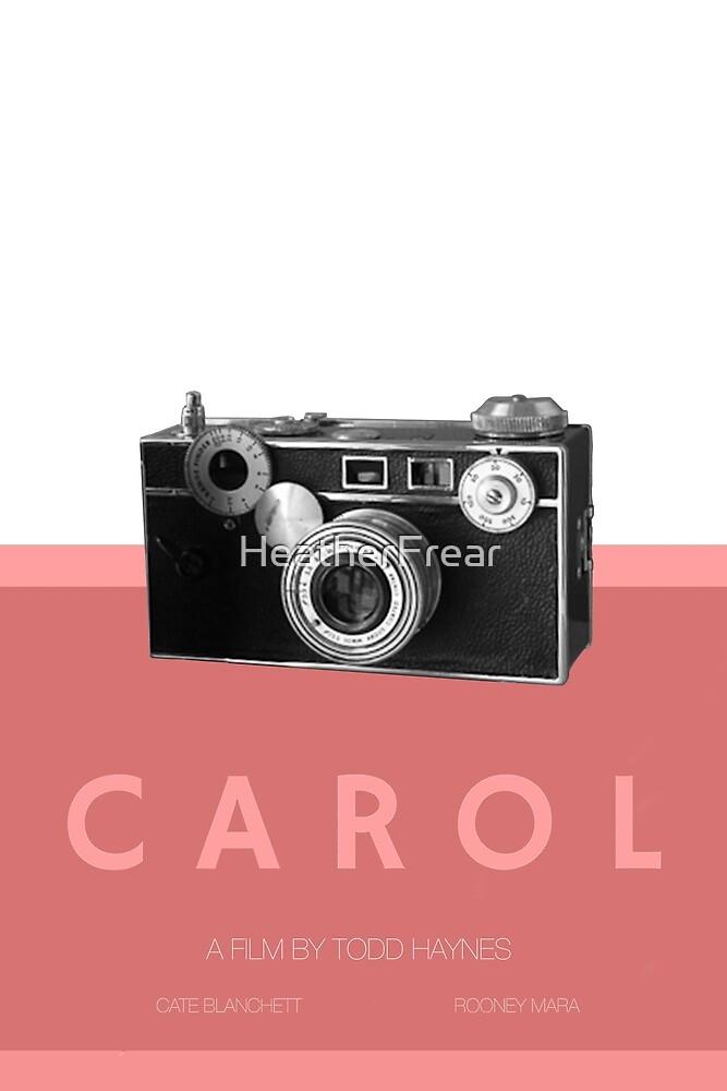 Carol Minimalist Design by HeatherFrear