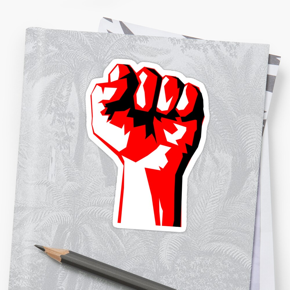 RAISE YOUR FIST AND RESIST by phandiltees
