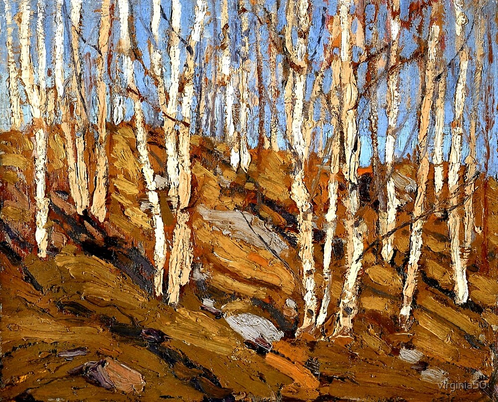 Tom Thomson - Northern Spring by virginia50