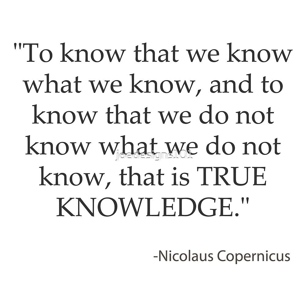 True Knowledge - Copernicus by joedesigns101