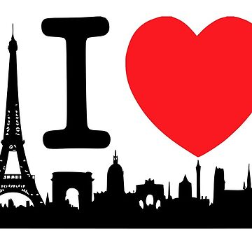 Paris the city of love by vodanet