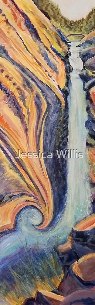 'The Decent at Fibonacci Falls' by Jessica Willis