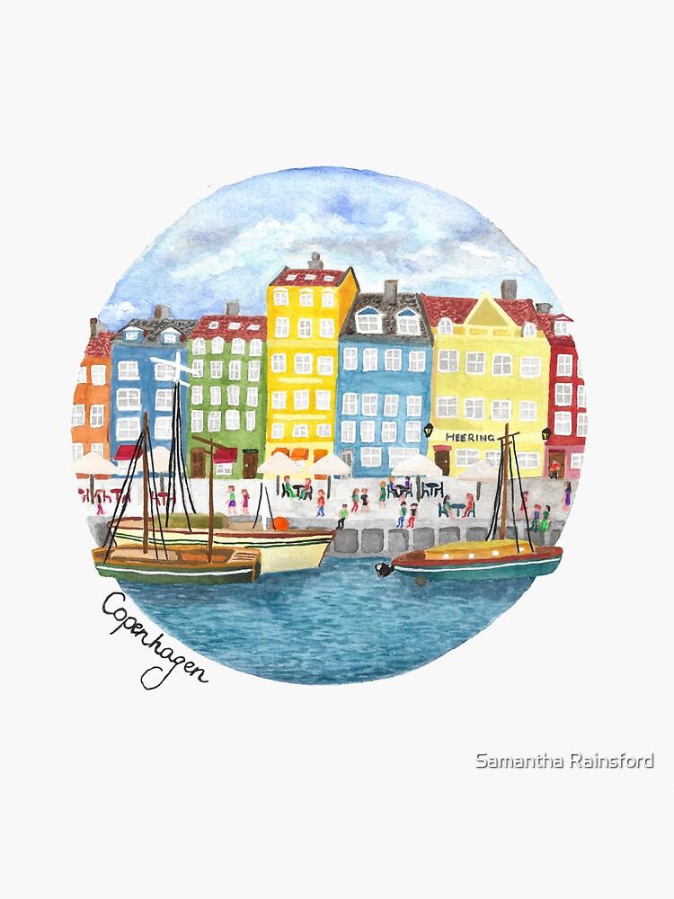 Copenhagen City by SamanthaRain