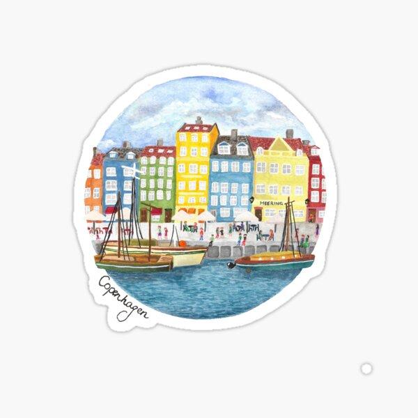 Copenhagen City Sticker