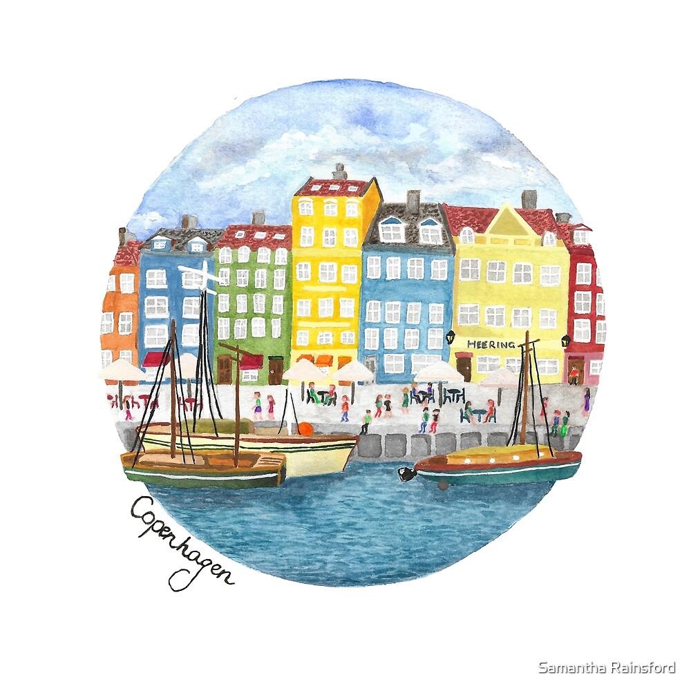 Copenhagen City by Samantha Rainsford