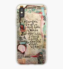 Creative Mess iPhone Case