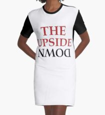 The upside down Graphic T-Shirt Dress