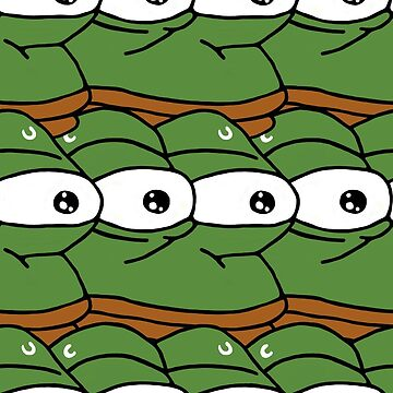 MonkaS Pattern Pepe Frog by pacomax