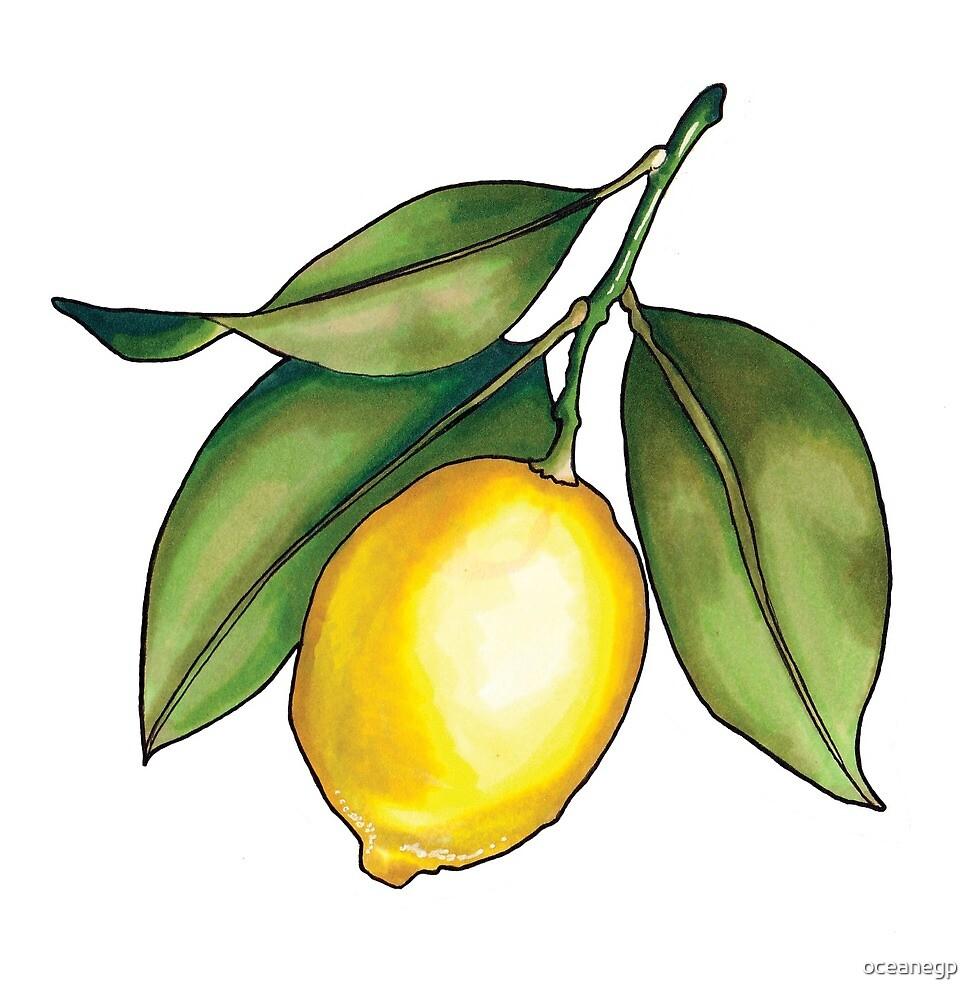 Golden Lemon by oceanegp