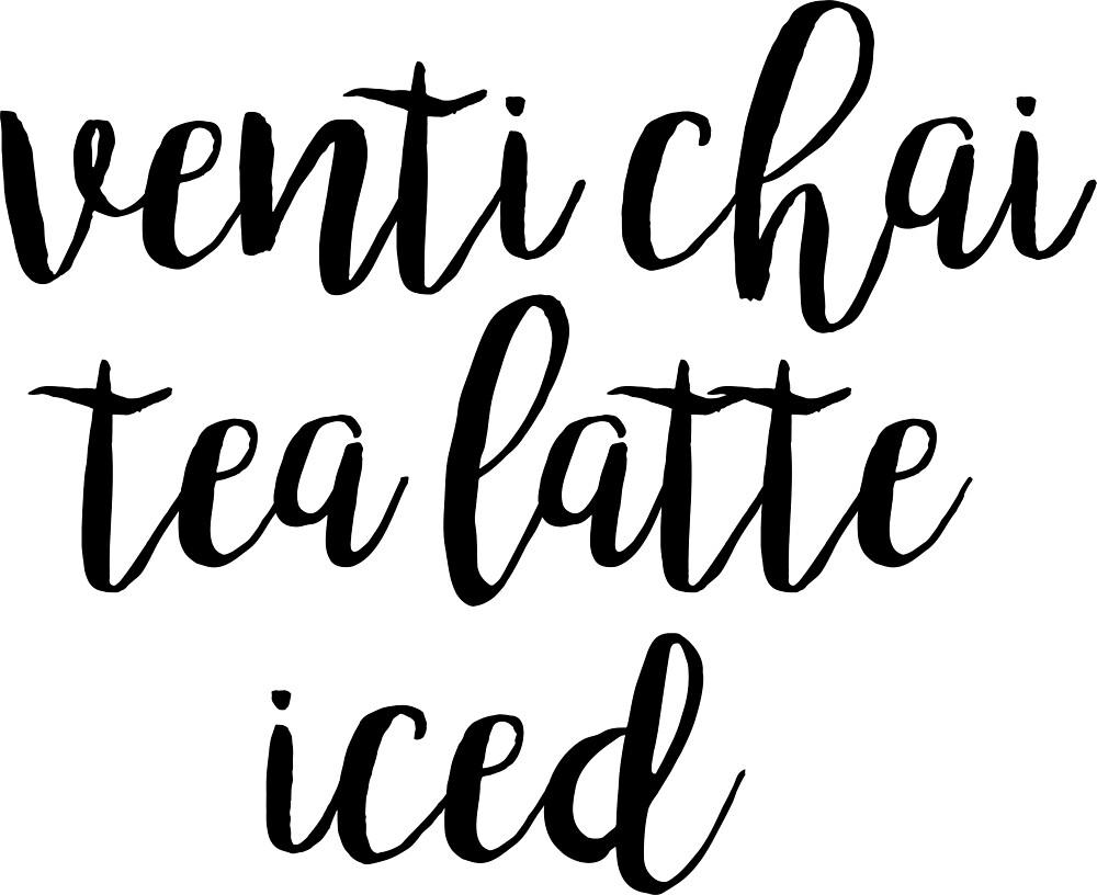 Venti Chai Tea Latte Iced by tay2897