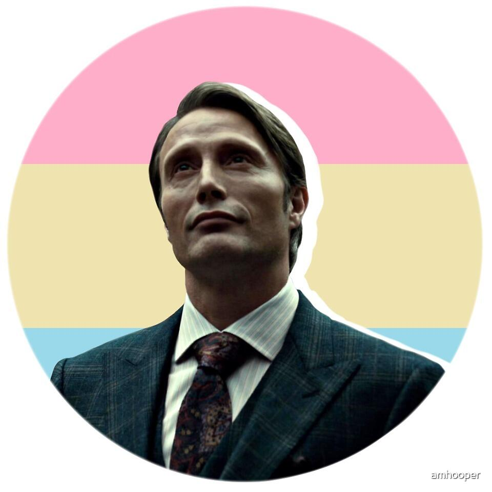 Pansexual Hannibal Lecter by amhooper
