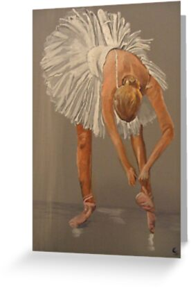Ballet dancer, swan lake by Susan Brown