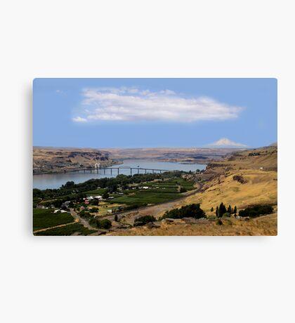 Columbia River Canvas Print