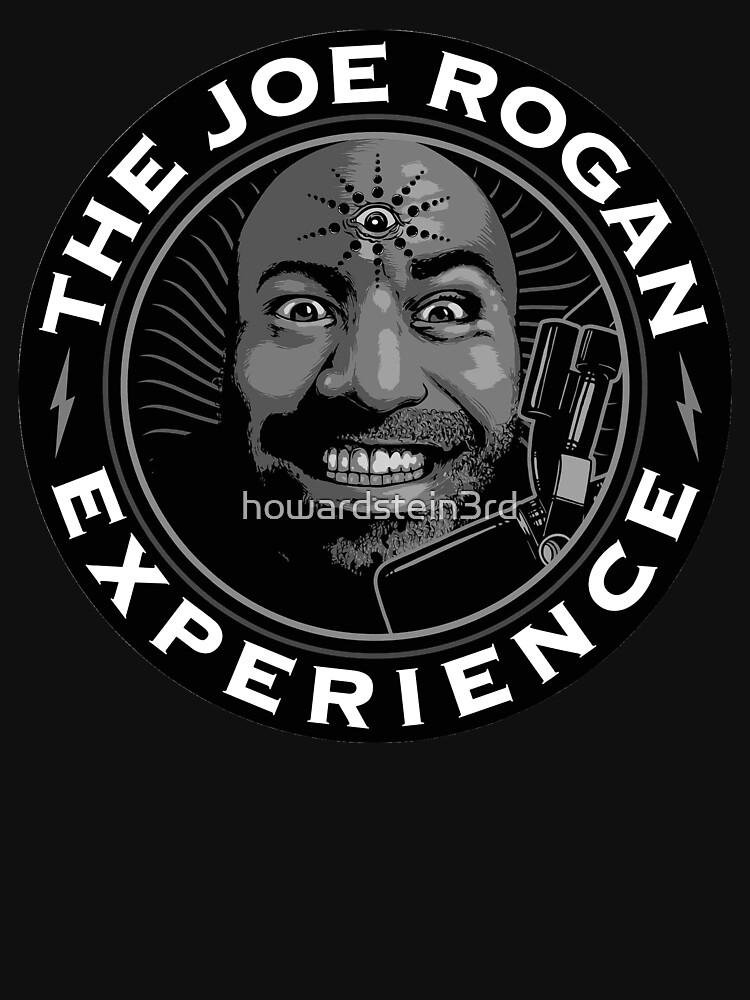 Joe Rogan black and white by howardstein3rd