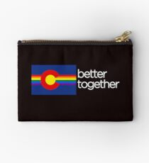 Take pride in Colorado! Show support for all Coloradans! Studio Pouch
