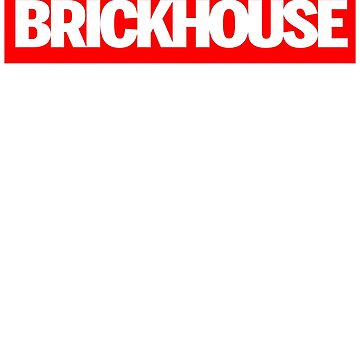 Supreme Parody Brickhouse Bodybuilding Gym T-Shirt by irondiscipline