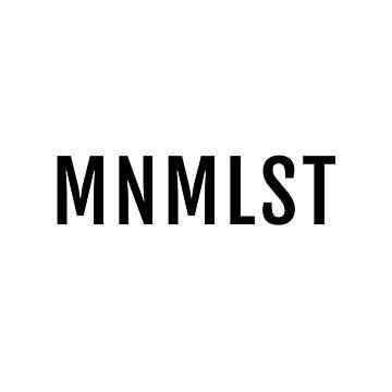 MNMLST, Minimalist design by beakraus