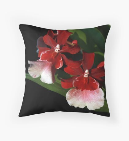 Fine Floral IV Throw Pillow