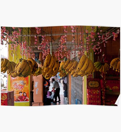 Bananas - Tampin, Malaysia Poster