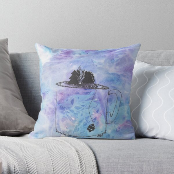 Secluded SereniTea Throw Pillow
