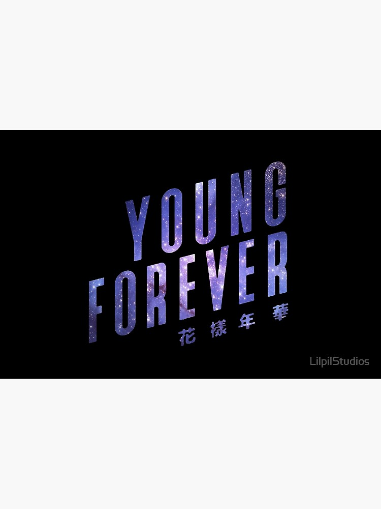 BTS Young Forever Galaxy Print by LilpilStudios