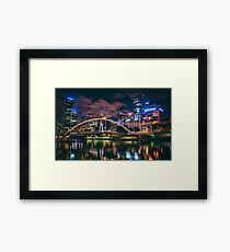 Colourful Cityscape Framed Print