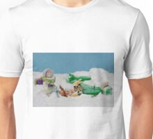 I thought they smelled bad on the outside! Unisex T-Shirt