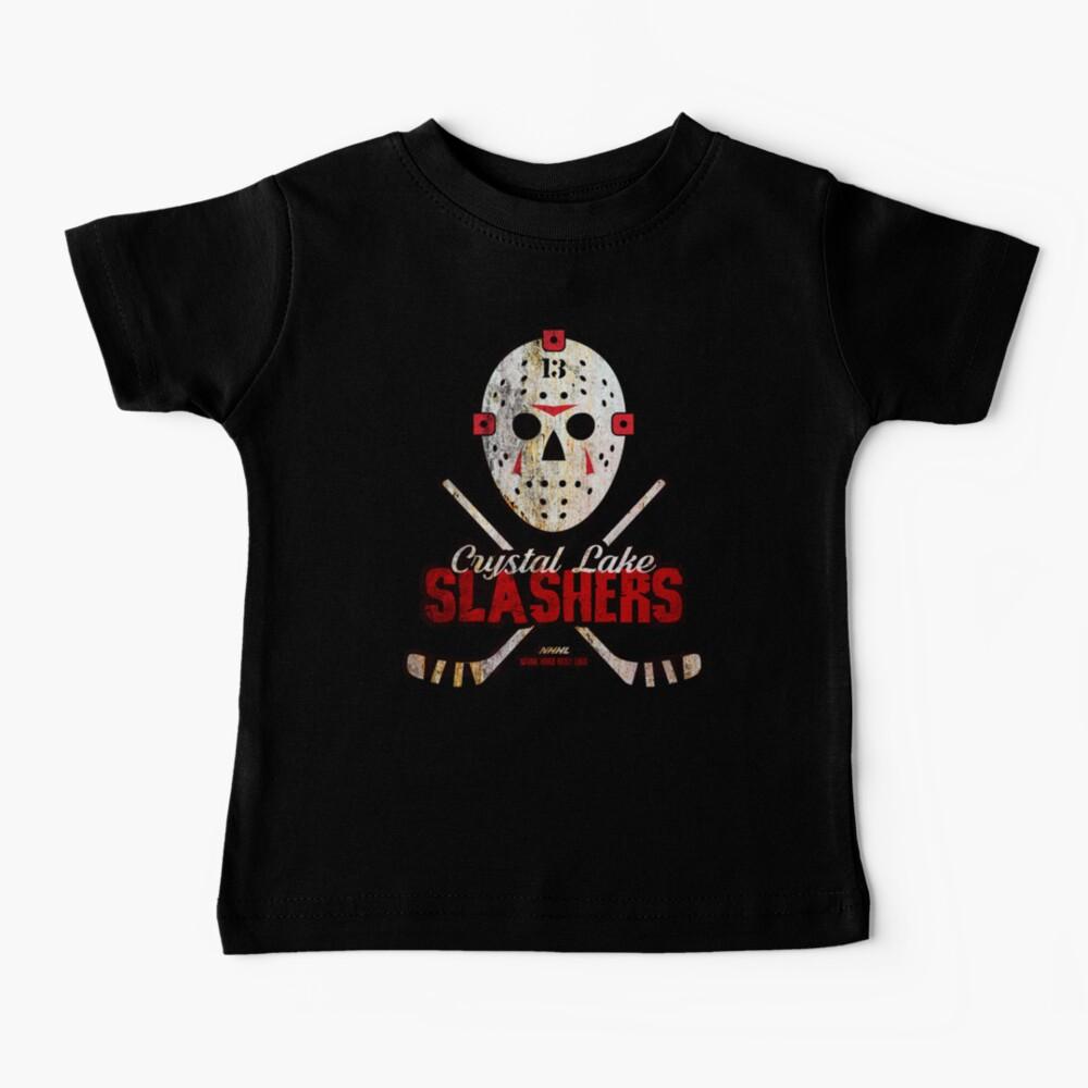 CRYSTAL LAKE SLASHERS  Baby T-Shirt