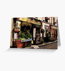 Parisian Street Greeting Card