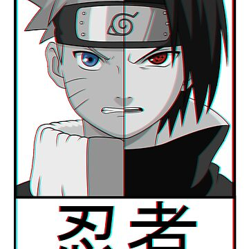 Naruto and Sasuke by MisterNightmare