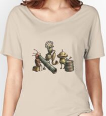 Machinarium's Jazz Band Women's Relaxed Fit T-Shirt