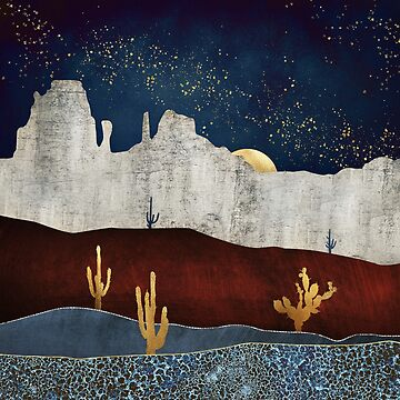 Moonlit Desert by spacefrogdesign