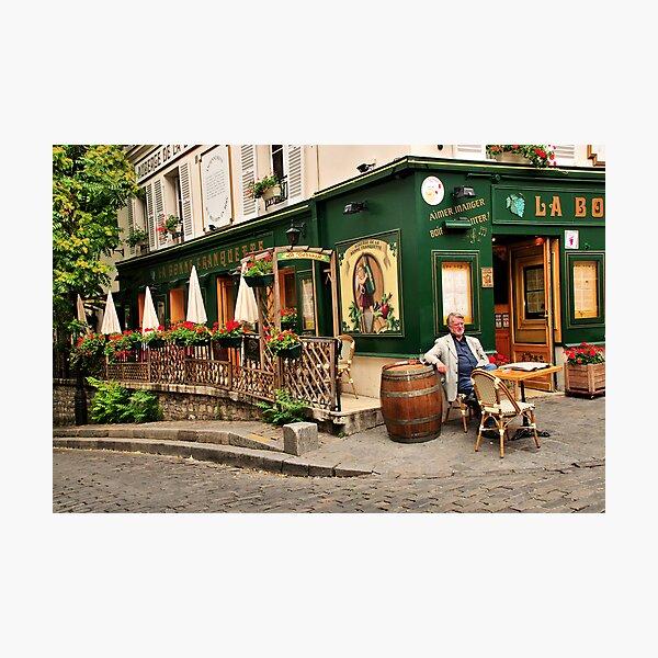 Parisian Restaurant 2 Photographic Print