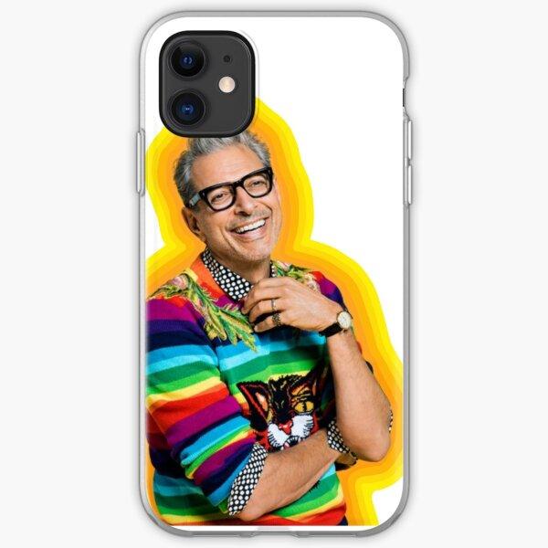 Jeff Goldblum of Happiness iPhone Soft Case