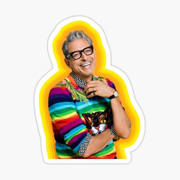 Jeff Goldblum of Happiness Sticker