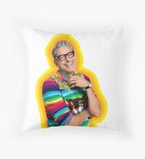 Jeff Goldblum of Happiness Throw Pillow