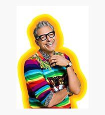 Jeff Goldblum of Happiness Photographic Print