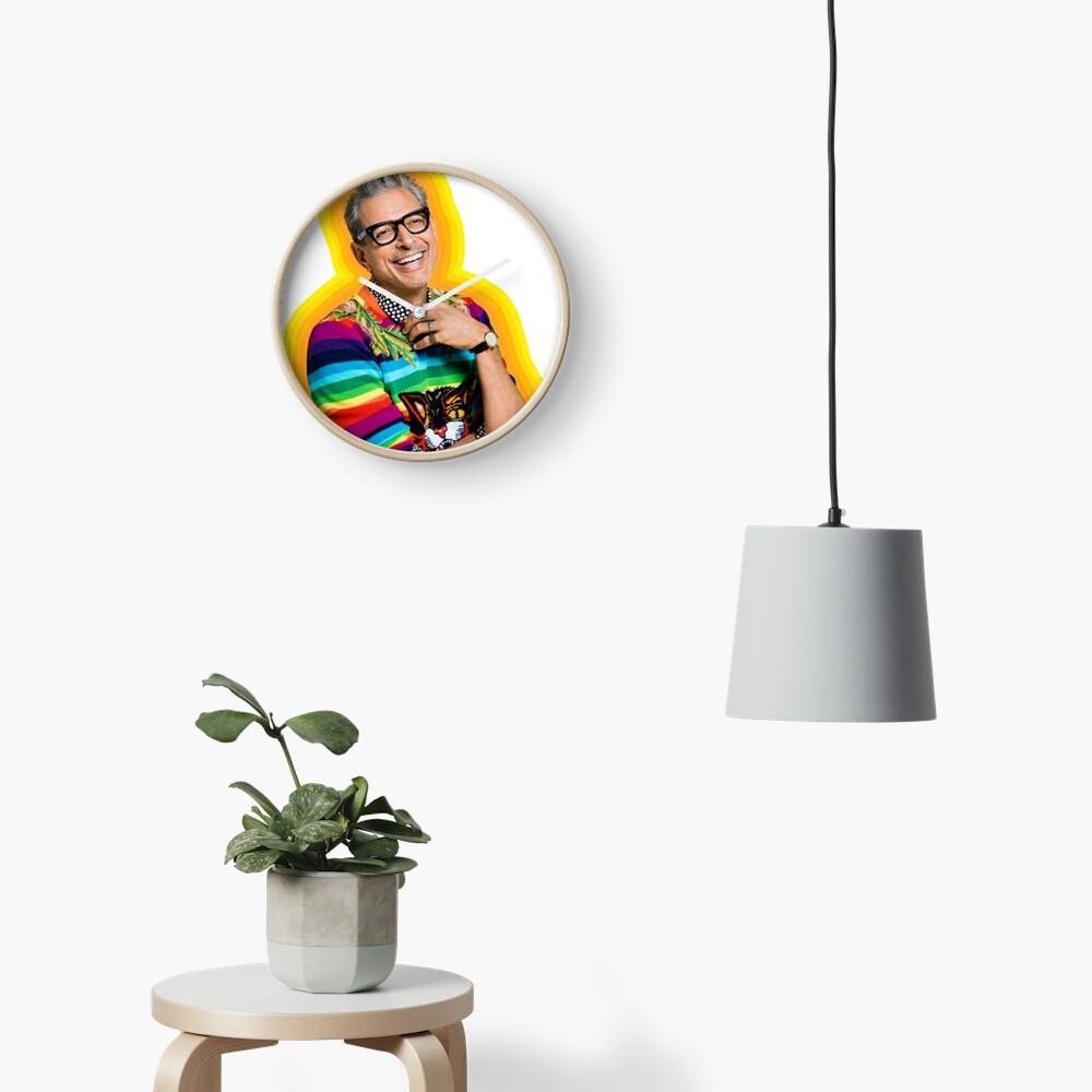 Jeff Goldblum of Happiness Clock