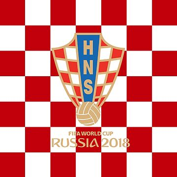 Croatia National Football Team exclusive design for Russia World Cup 2018 by hypnotzd