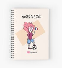 2018 World Cup - France flag Spiral Notebook