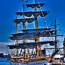 Sail Boston Mircea  ( front view) by LudaNayvelt